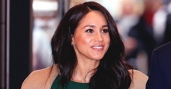 Meghan Markle Steps out in Khaki Coat and Black Pencil Skirt during Surprise Visit to Windsor
