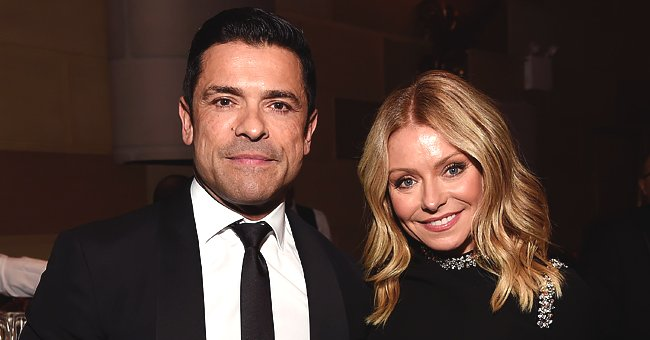 Kelly Ripa Gushes over Mark Consuelos Who Gave Her Flowers on 26th Anniversary of Day They Met