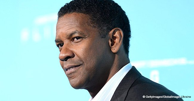 'Did I say yes?' Denzel Washington checks pushy fan's manners after asking for a photo
