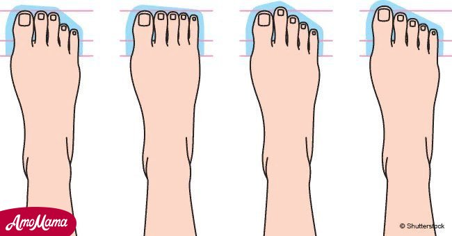The shape of your toes and feet could give insight into your personality traits