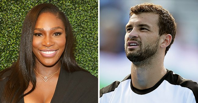 Check Out Serena Williams & Grigor Dimitrov's Tennis Skills as They Practice Together (Video)