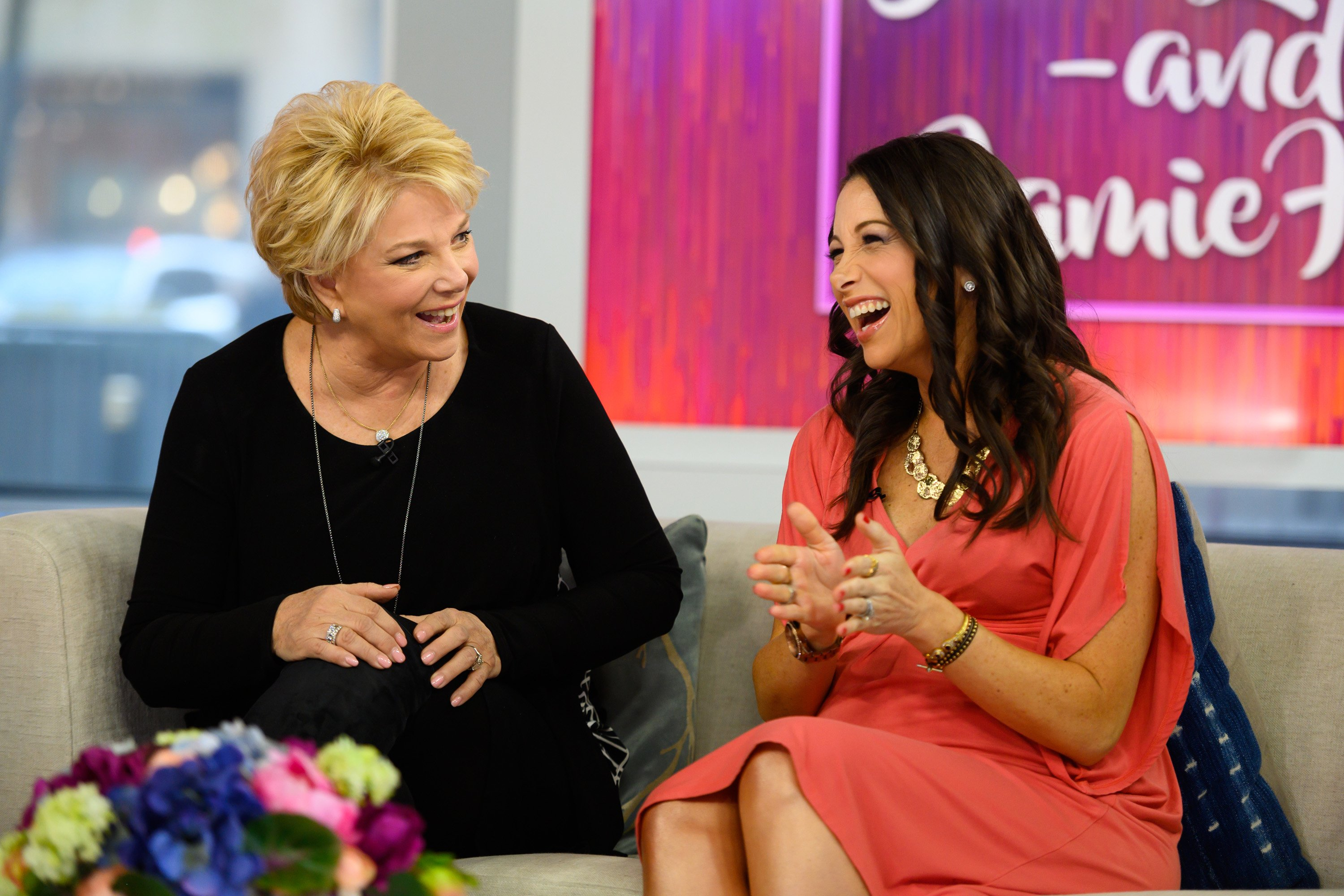 Joan Lunden and daughter Jamie Hess on March 14, 2019 | Source: Getty Images/Global Images Ukraine
