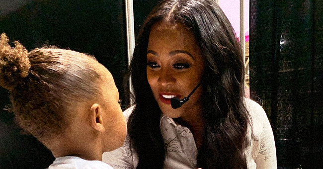 Keshia Knight Pulliam Shares Cute Mommy & Me Moment from Essence Fest