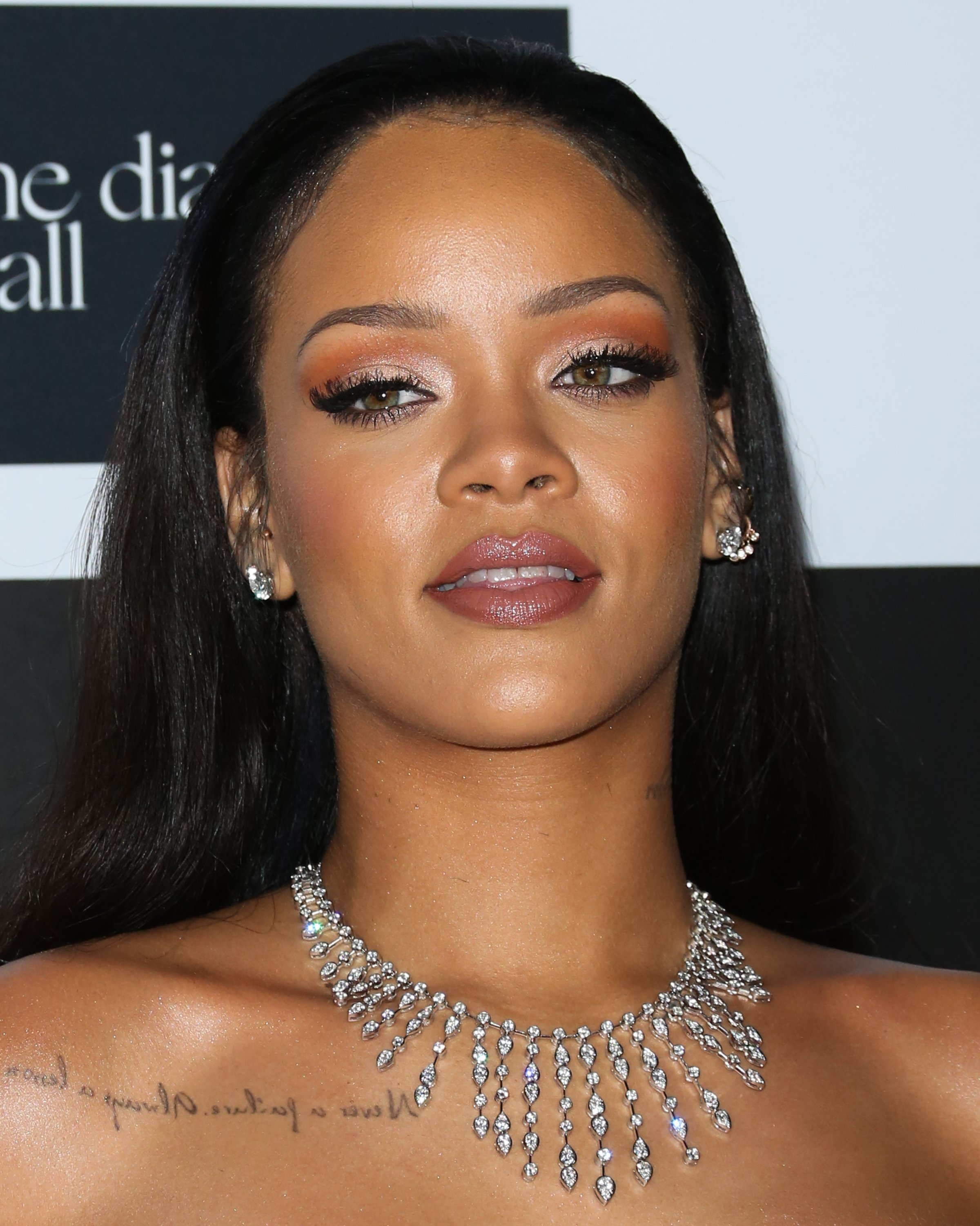 Rihanna hosting the 2nd Annual Diamond Ball in December 2015. | Photo: Getty Images