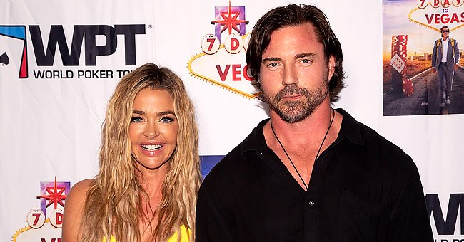 """Denise Richards and Aaron Phypers at the premiere of """"7 Days to Vegas"""" at Laemmle Music Hall in Beverly Hills, California   Photo: Getty Images"""