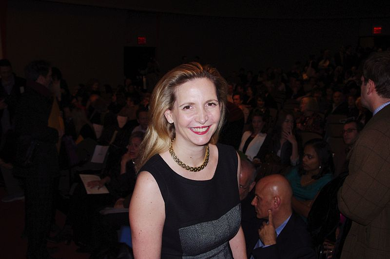 Amanda Foreman at the National Book Critics Circle Awards for the 2011 publishing year. | Source: Wikimedia Commons
