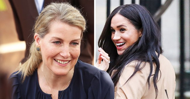 Queen Elizabeth's Daughter-In-Law Sophie Shows Support for Meghan Markle Following Her Royal Exit