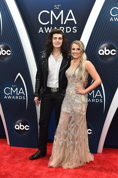 Cade Foehner and Gabby Barrett at the The 52nd Annual CMA Awards | Photo: Getty Images