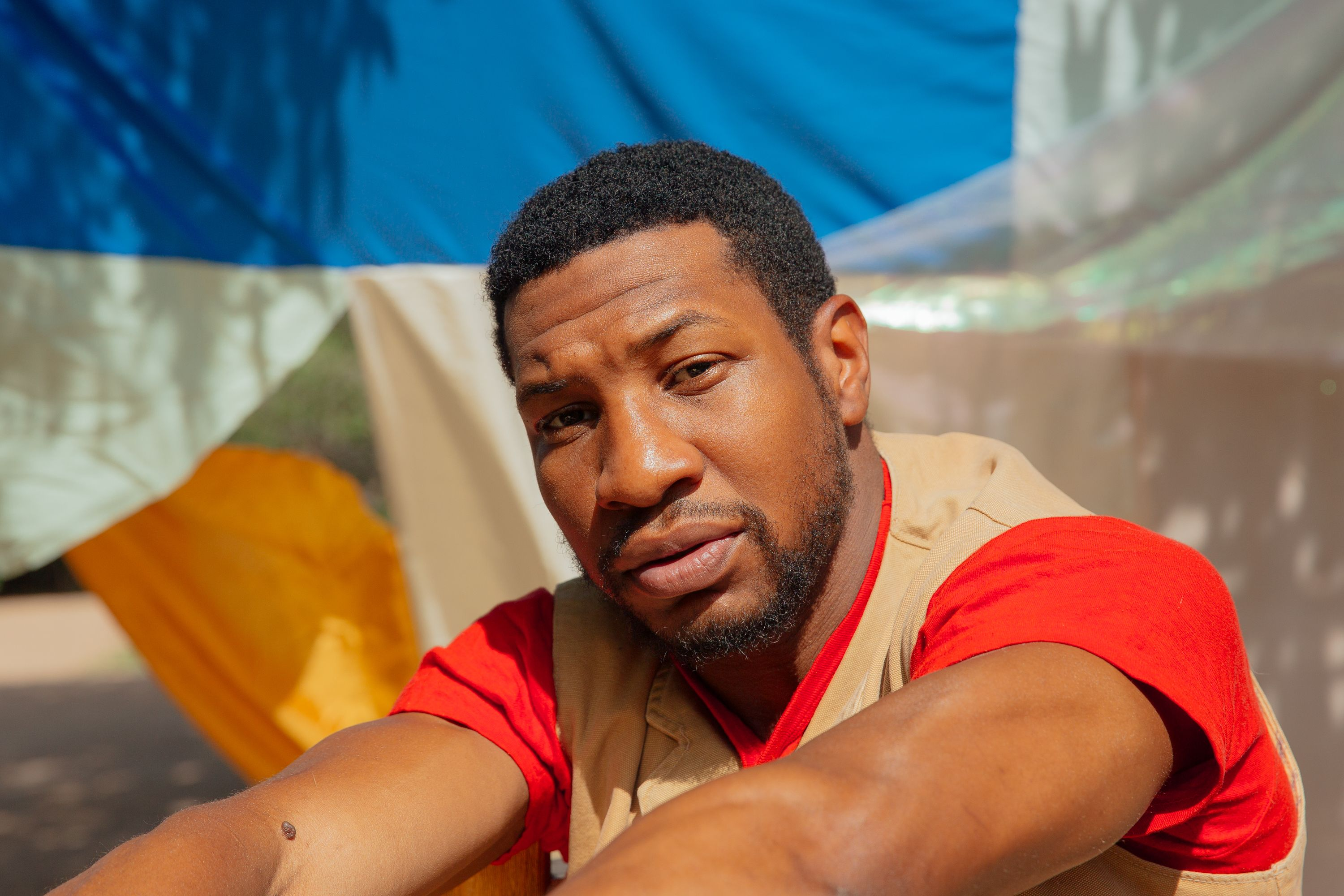 Jonathan Majors poses for a portrait at his home on October 02, 2020 | Photo: Getty Images