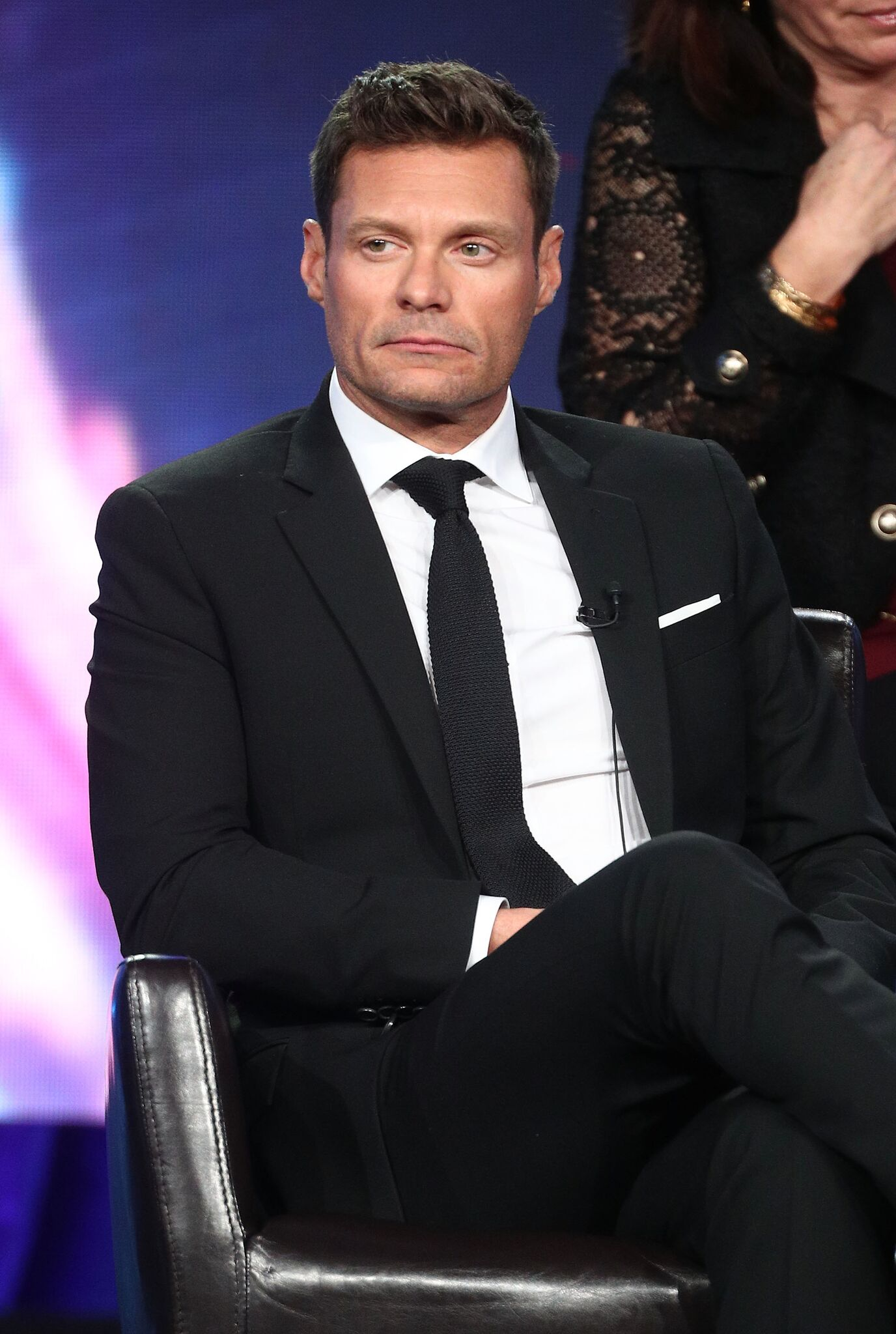 Ryan Seacrest of the television show American Idol speaks onstage during the ABC Television/Disney portion of the 2018 Winter Television Critics Association Press Tour | Getty Images