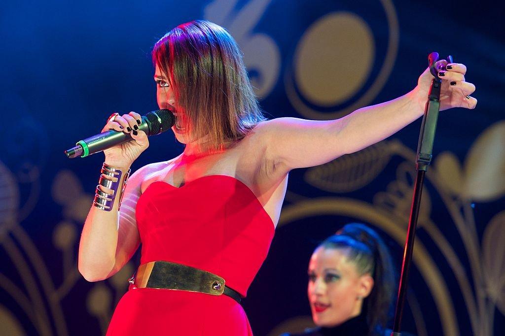 Chenoa en el escenario.| Fuente: Getty Images