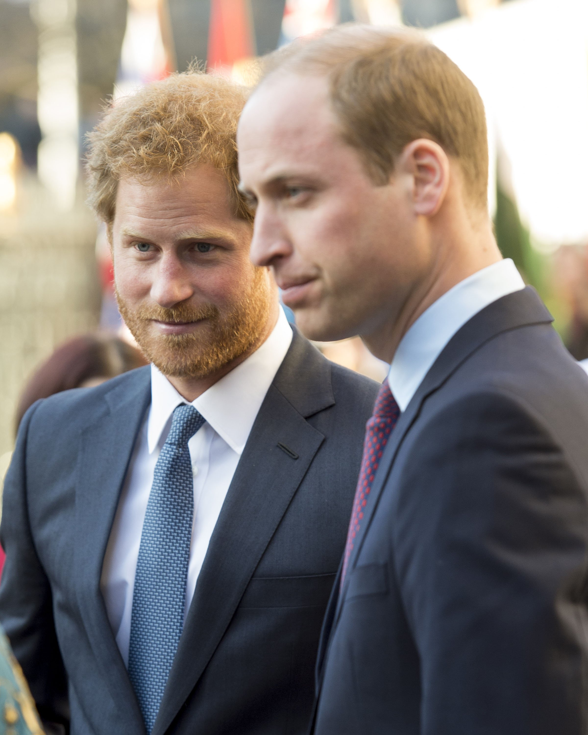 Le prince Harry et le prince William, duc de Cambridge, assistent au service de la journée d'observation du Commonwealth, le 14 mars 2016 à Londres, au Royaume-Uni. | Photo : Getty Images