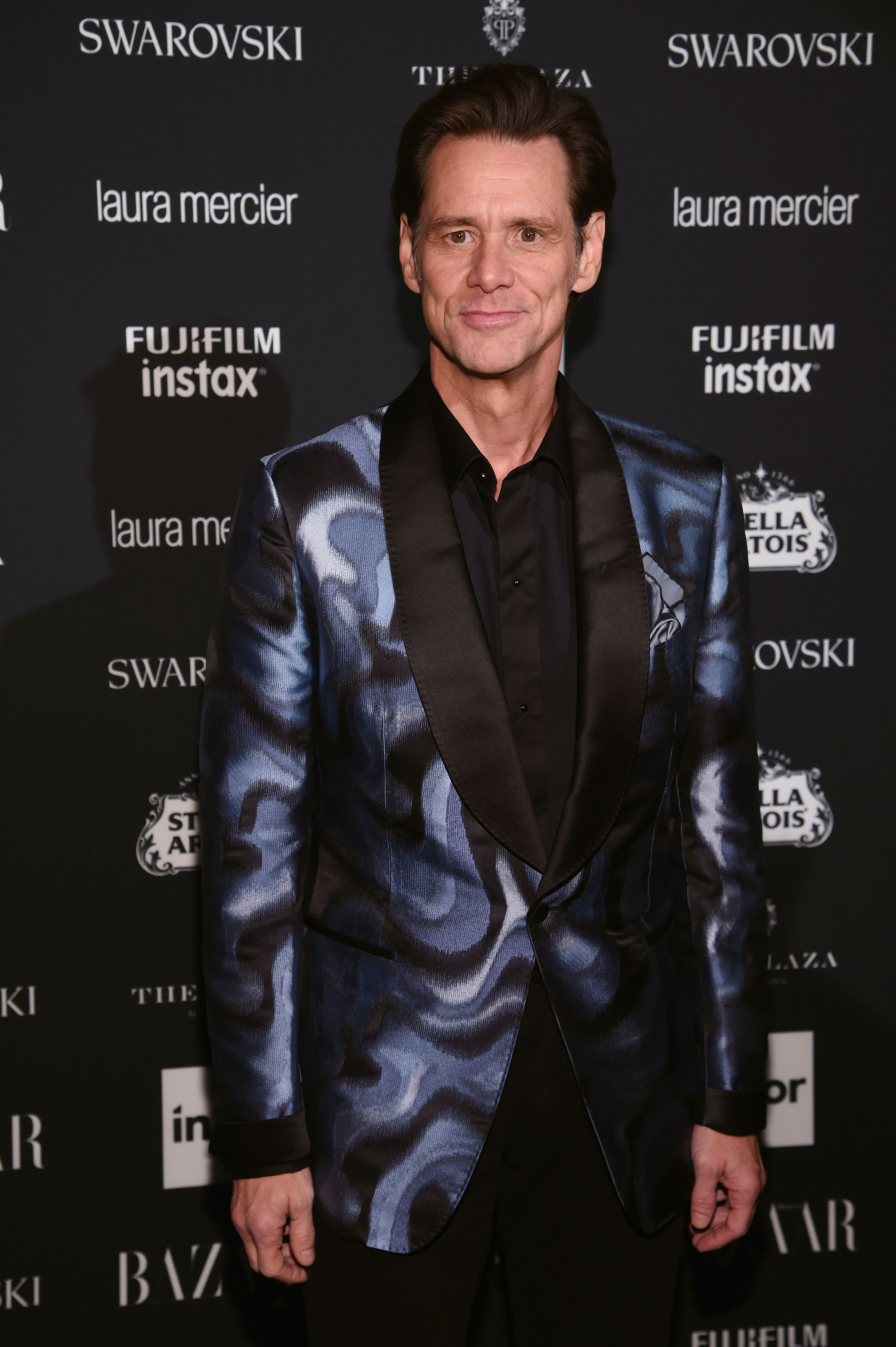 "Jim Carrey attends Harper's BAZAAR Celebration of ""ICONS By Carine Roitfeld"" at The Plaza Hotel presented by Infor, Laura Mercier, Stella Artois, FUJIFILM and SWAROVSKI  