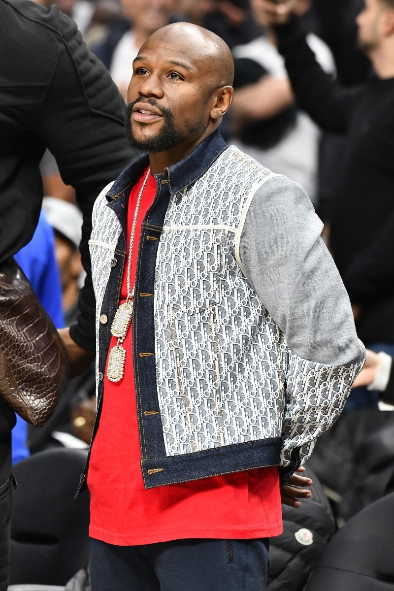 Floyd Mayweather Jr. on November 20, 2019 in Los Angeles, California. | Source: Getty Images