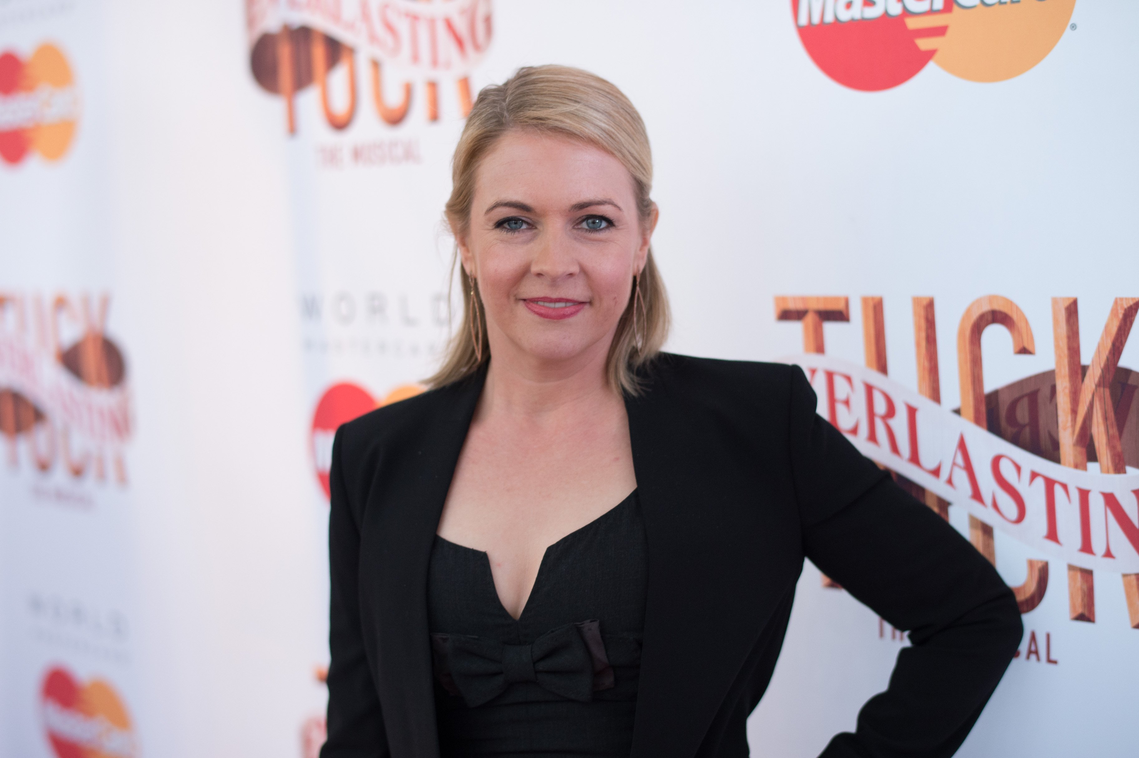 Melissa Joan Hart am Broadhurst Theatre am 26. April 2016 in New York City | Quelle: Getty Images