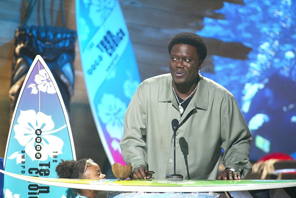 """Bernie Mac won """"Choice Breakout TV show"""" at """"The Teen Choice Awards 2002"""" at the Universal Amphitheatre in Los Angeles, Ca 
