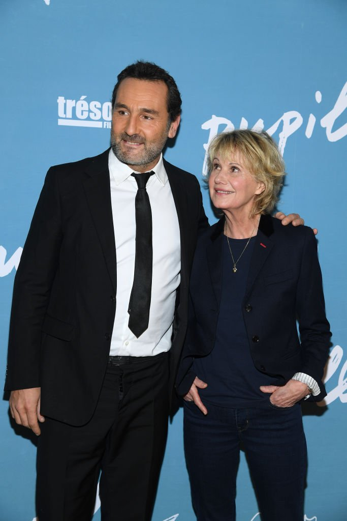 Miou-Miou et Gilles Lellouche en 2018. l Source : Getty Images