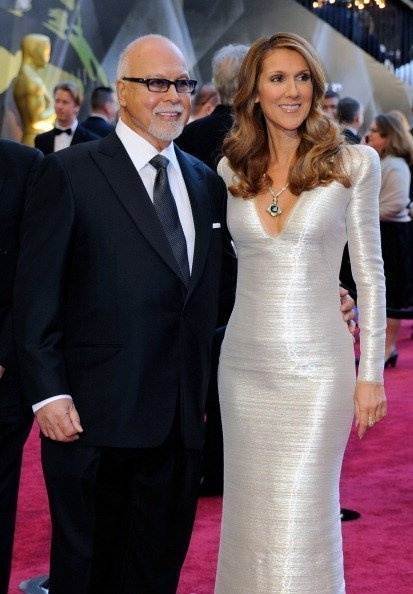 Rene Angelil and Celine Dion, arrive at the 83rd Annual Academy Awards on February 27, 2011 | Photo: Getty Images.