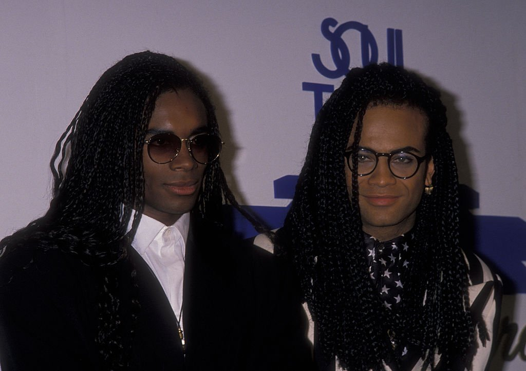 Rob Pilatus and Fab Morvan of Milli Vanilli attend Fourth Annual Soul Train Music Awards on March 14, 1990 at the Shrine Auditorium in Los Angeles, California | Photo: GettyImages
