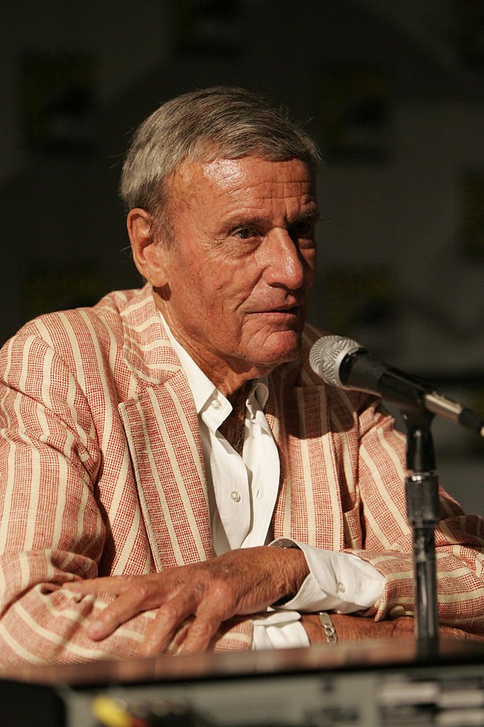 """Richard Anderson at the introduction of Warner Home Video's """"Forbidden Planet"""" 50th Anniversary 2-Disc Special Edition and Ultimate Collectors Edition on July 21, 2006 