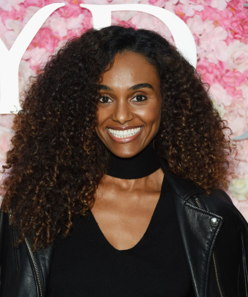 "Model Gelila Bekele attends the NYDJ Fall 2018 Campaign Celebration and Panel Event - ""The Power Of Fit: Women Leading Change"" at The Jane Club 