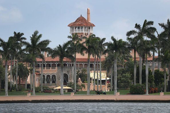 President Donald Trump's Mar-a-Lago resort in West Palm Beach, Florida. | Photo: Getty Images.