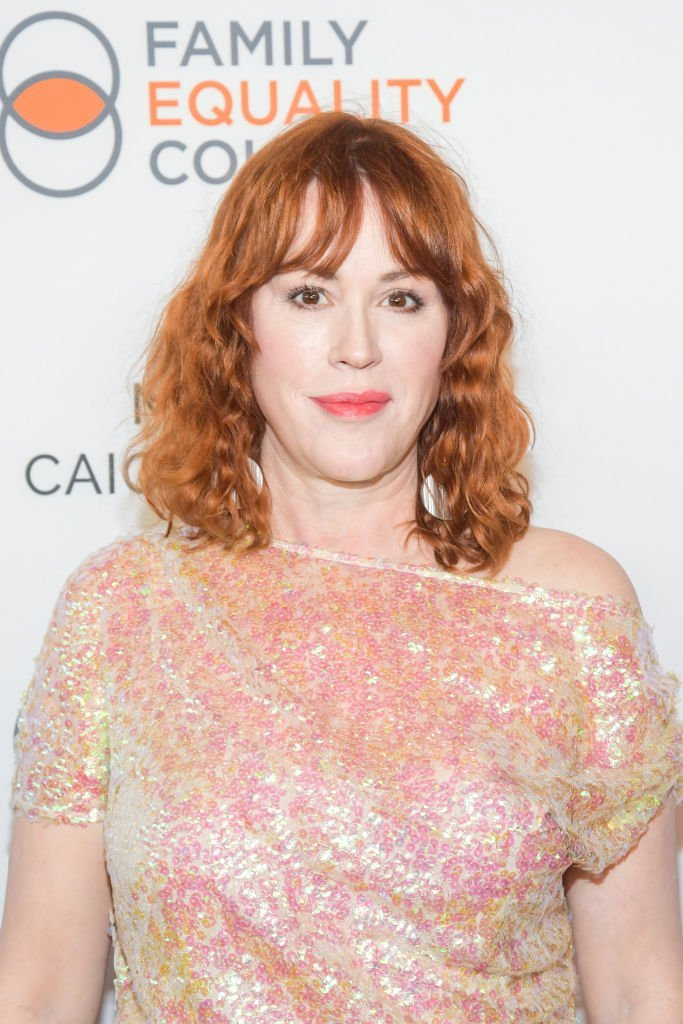 "Molly Ringwald attends the Family Equality Council's ""Night At The Pier"" Gala at Chelsea Piers on May 06, 2019 