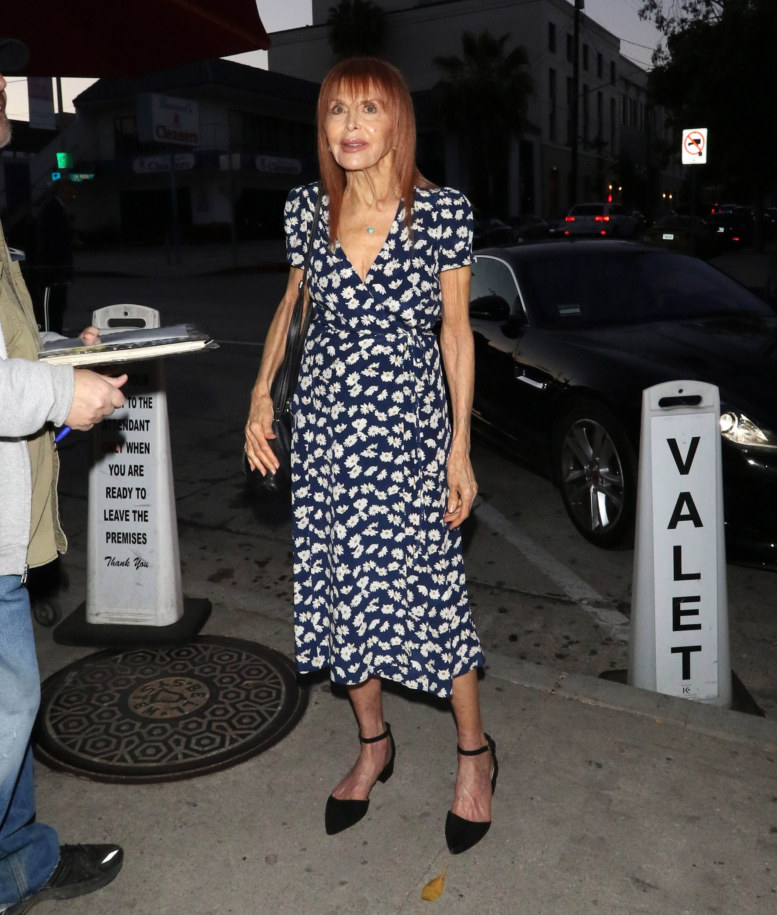 Tina Louise is seen on April 17, 2019 in Los Angeles, California. | Source: Getty Images