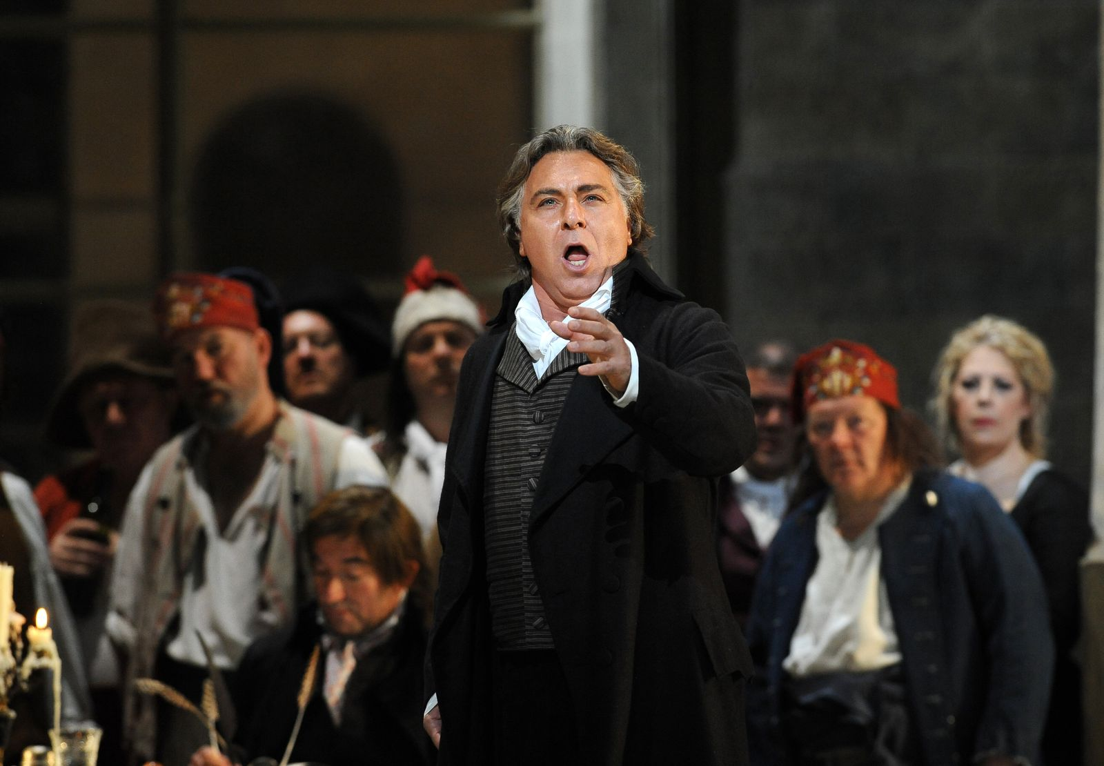 Le chanteur Roberto Alagna | Photo : Getty Images