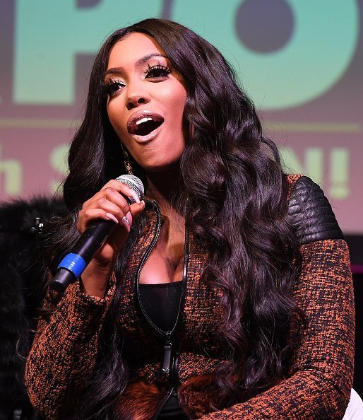 Porsha Williams speaking onstage during 2019 Atlanta Ultimate Women's Expo at Cobb Galleria Centre on November 09, 2019 in Atlanta, Georgia.| Photo:Getty Images