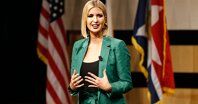 Ivanka Trump Flaunts Her Figure in Green Cropped Pantsuit and High Heels While in Texas