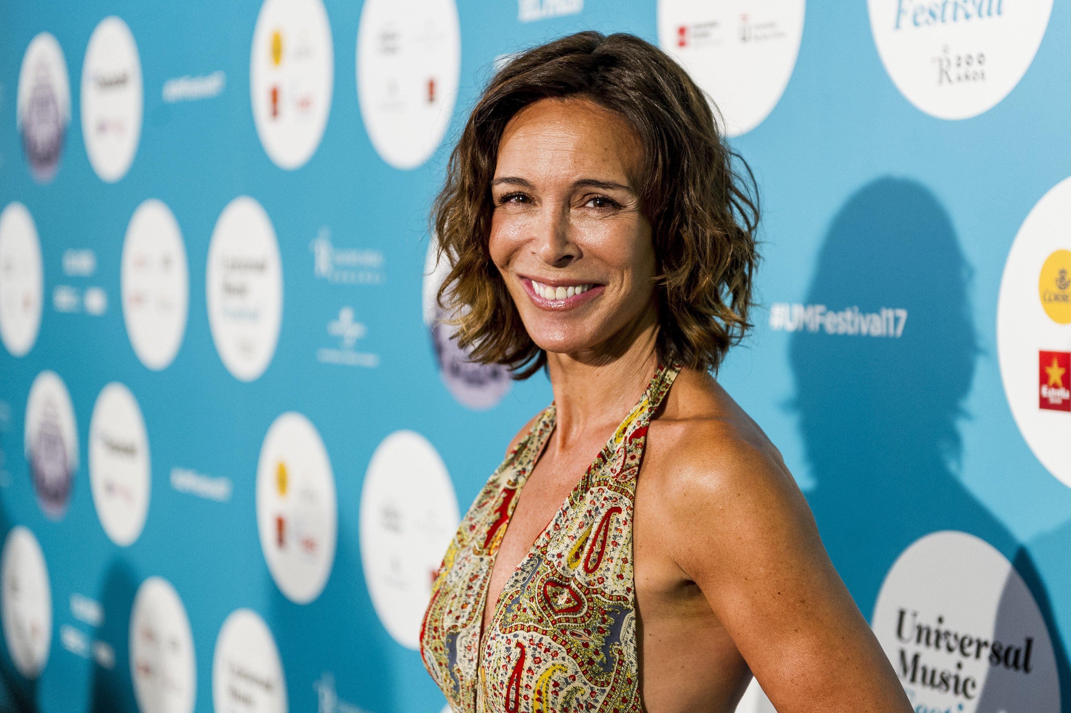 Lydia Bosch asiste a concierto de Rosaio en el Teatro Real el 28 de julio de 2017 en Madrid. | Fuente: Getty Images
