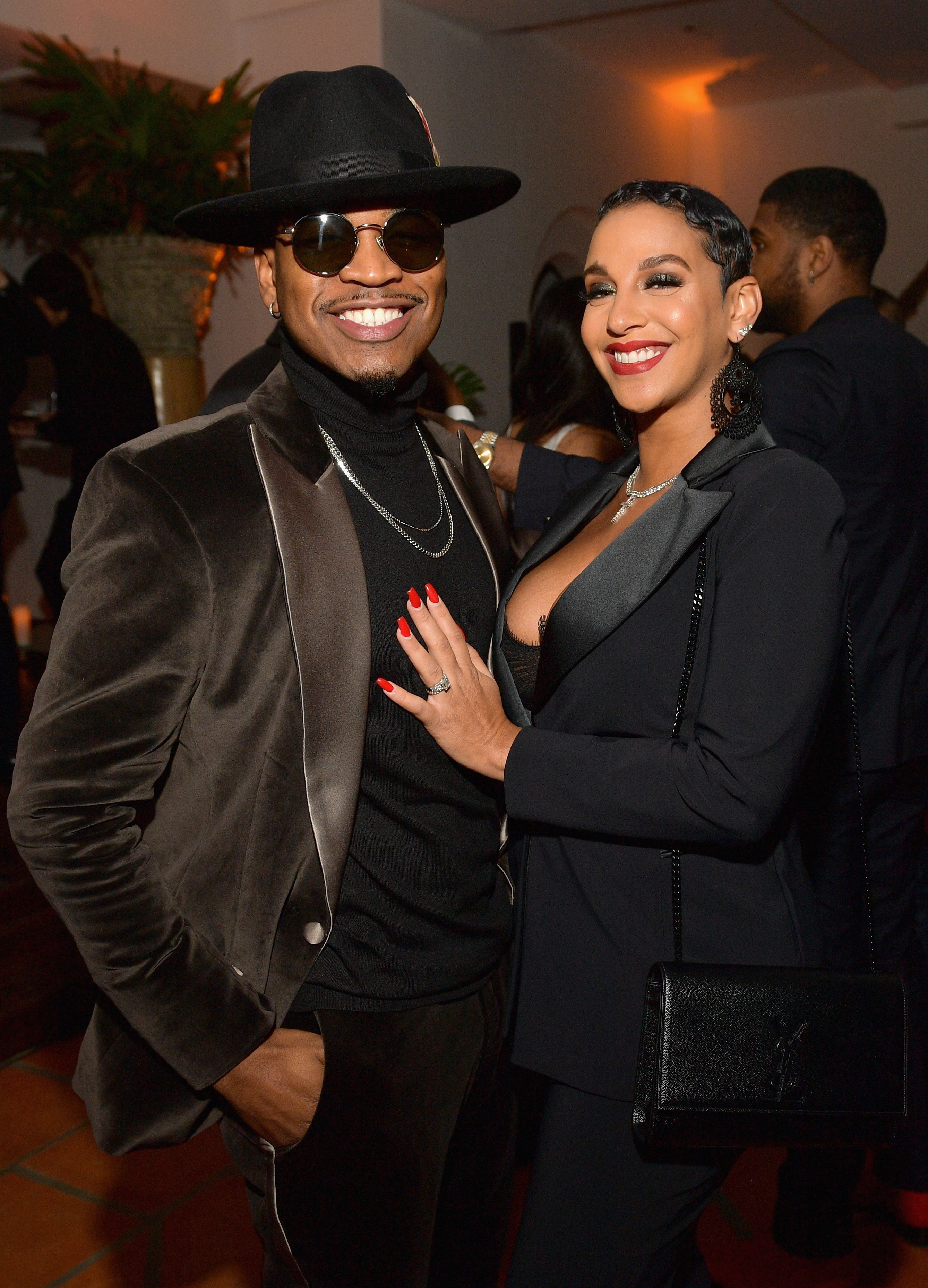 Ne-Yo and Crystal Smith at the 2018 GQ Men of the Year Party at a private residence on December 6, 2018 in Beverly Hills, California | Photo: Getty Images