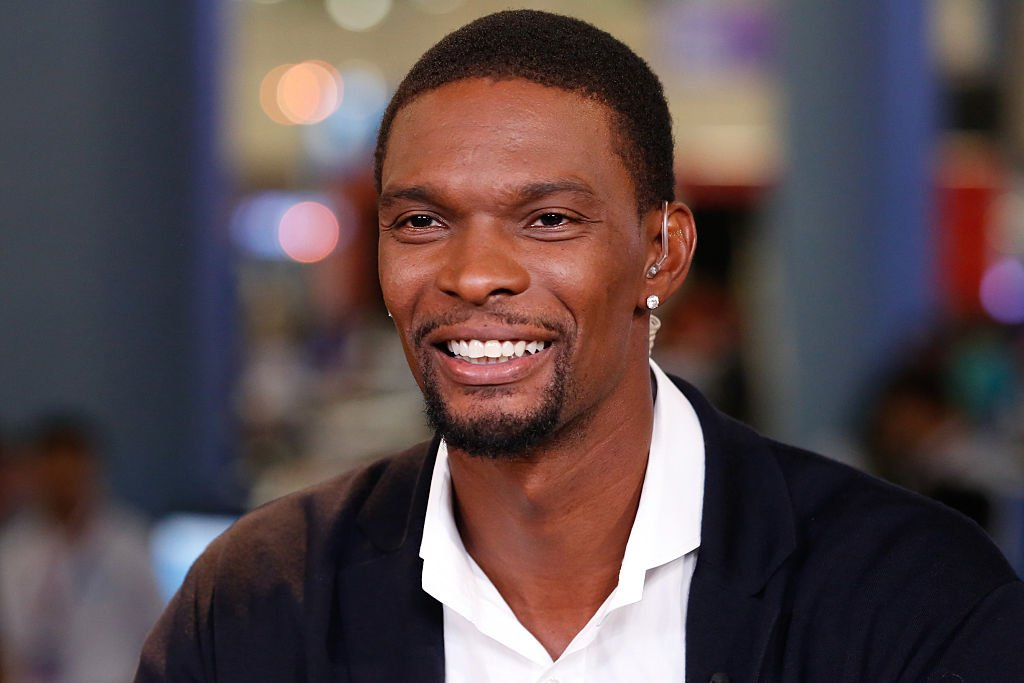 Chris Bosh, of the Miami Heat, in an interview during the eMerge Conference on May 5, 2015. | Photo: Getty Images
