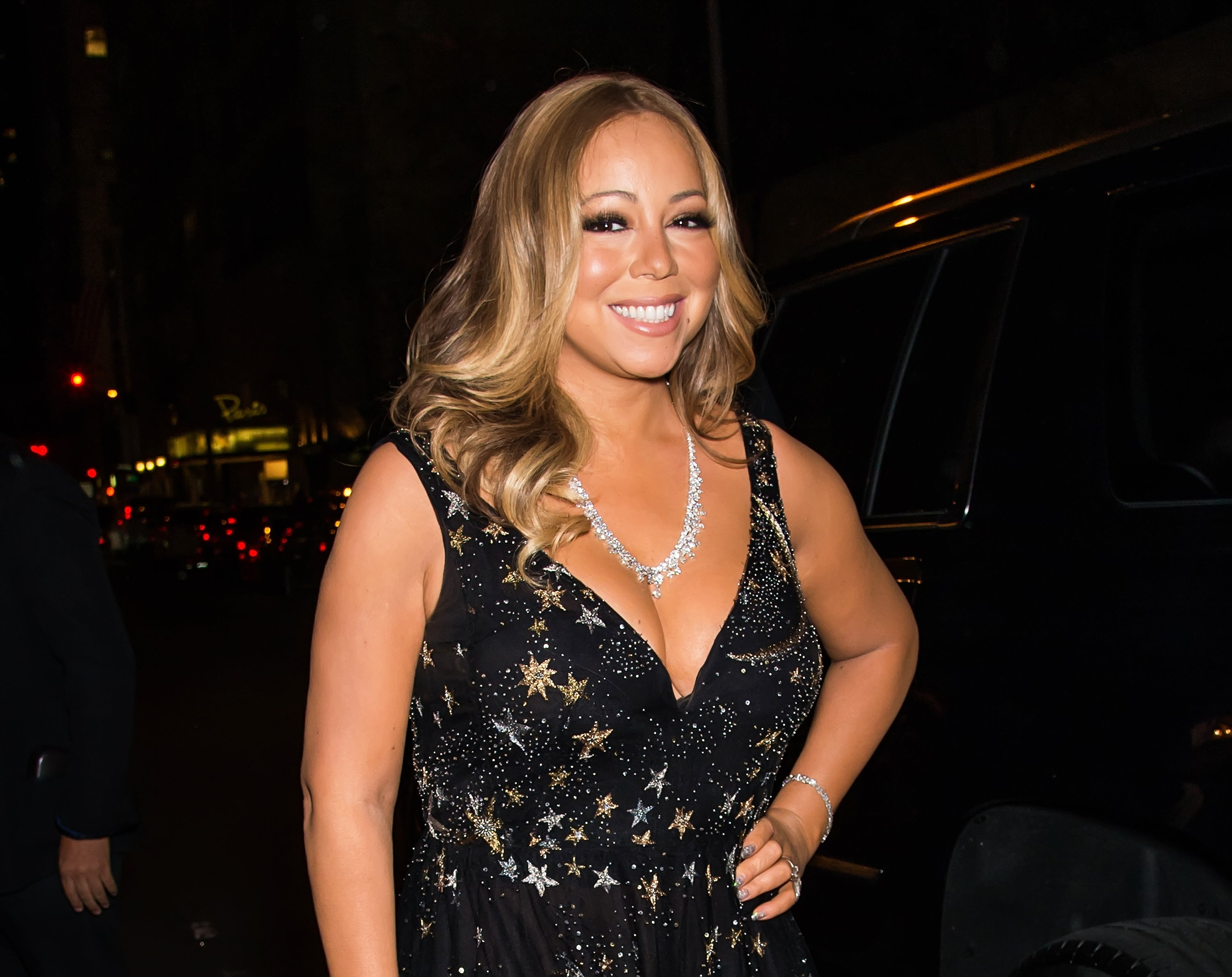 Mariah Carey attends 2015 Harper's BAZAAR ICONS Event at The Plaza Hotel on September 16, 2015, in New York City. | Source: Getty Images.