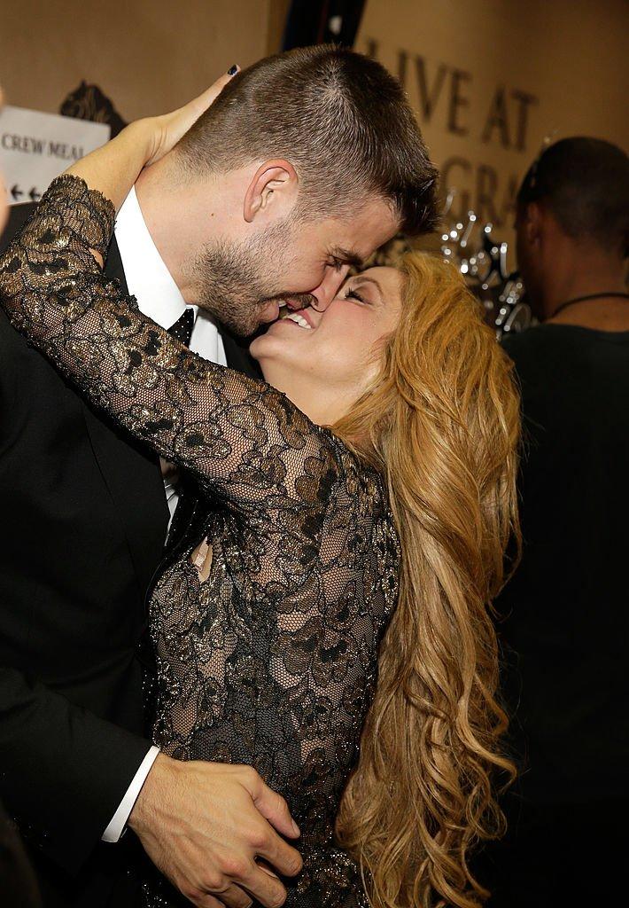 Piqué y Shakira en los Billboard Music Awards 2014.| Fuente: Getty Images