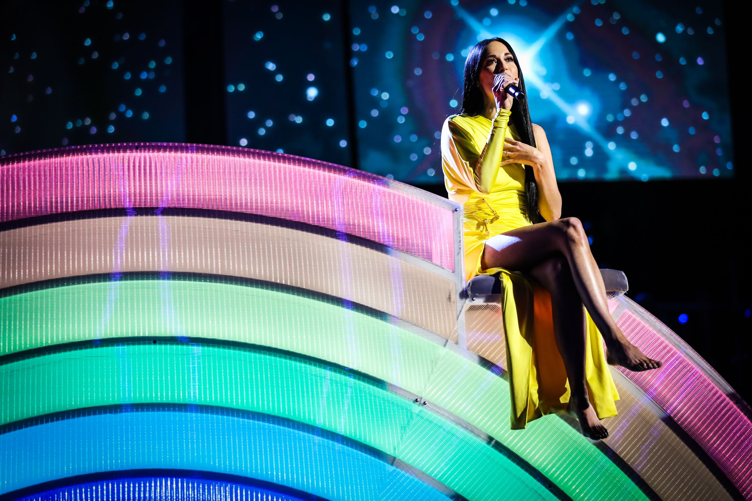 Kacey Musgraves at the 2019 iHeartRadio Music Awards in Los Angeles, California | Source: Getty Images