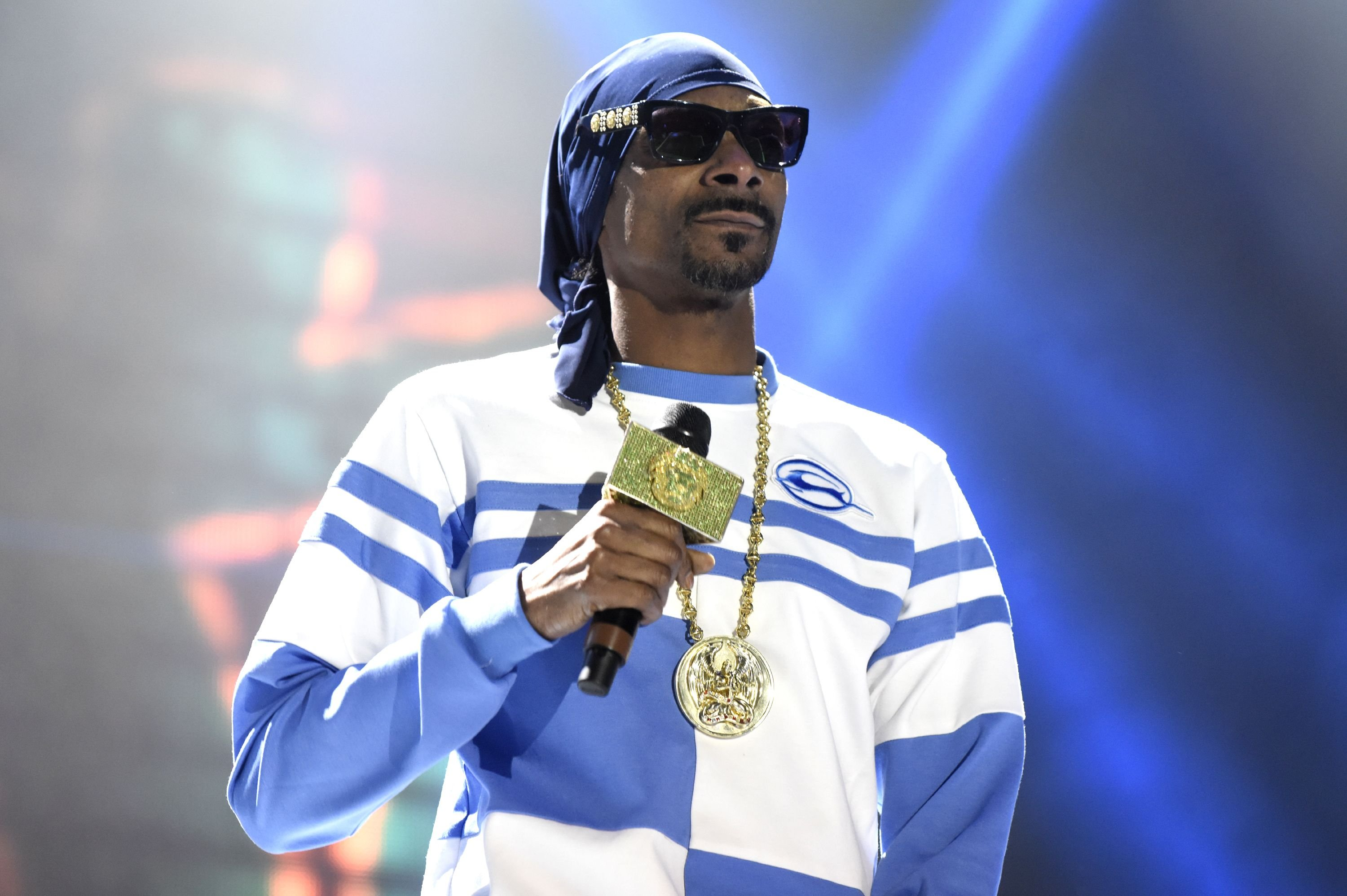 Snoop Dogg at the PowWow Jam at the 2018 Okeechobee Music Festival at Sunshine Grove on March 3, 2018 | Photo: Getty Images