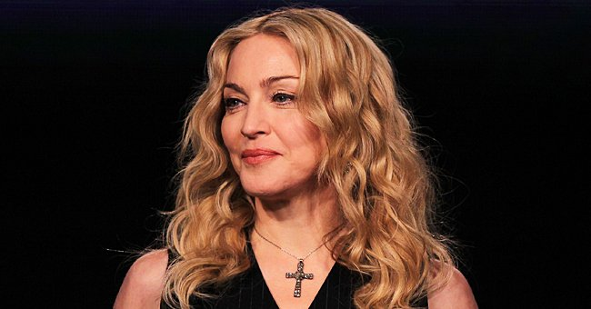 Madonna, 62, Flaunts Toned Belly in Black Crop Top as She Shows a Big Thigh Scar