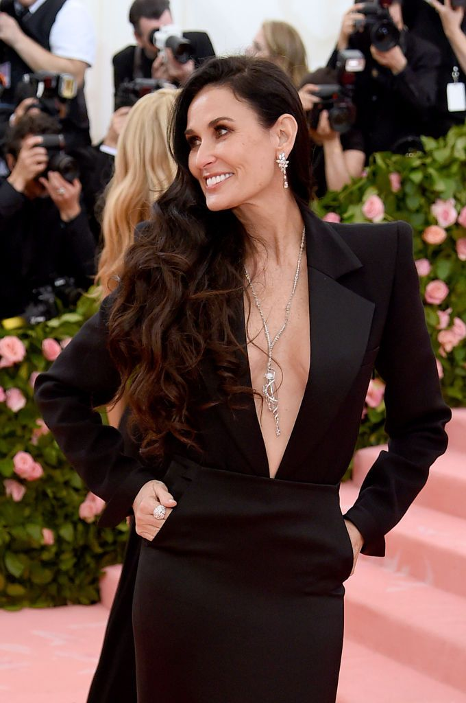 Demi Moore at The Met Gala Celebrating Camp: Notes on Fashion on May 06, 2019, in New York City | Photo: Jamie McCarthy/Getty Images