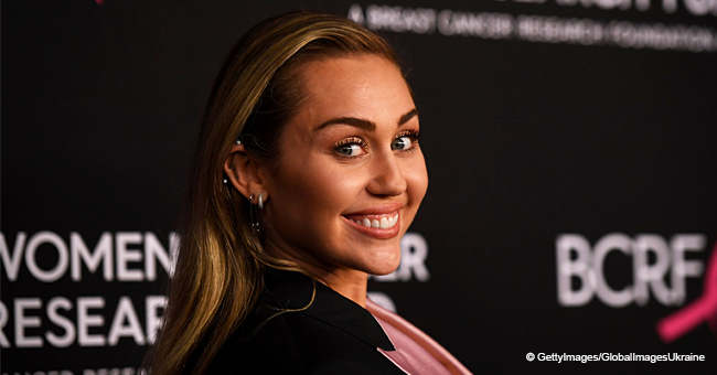 Miley Cyrus Turns Heads in Dangerously Short Dress in Latest Photo