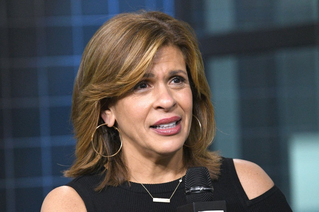 Hoda Kotb visits Build series to discuss her new book | Photo: Getty Images