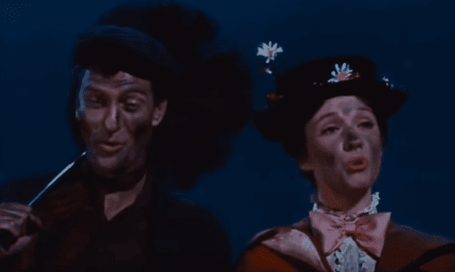 Mary Poppins and Bert covered in soot | Photo: Mary Poppins