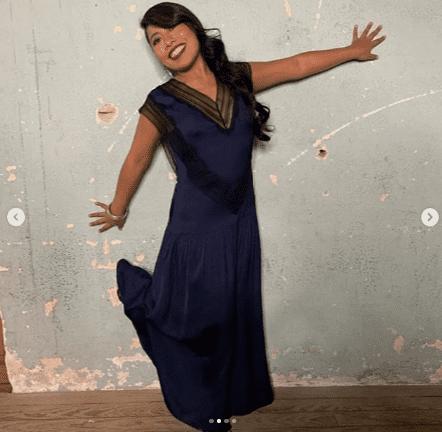 Yalitza posando con su look para el evento de la marca de champú.  | Imagen: Instagram/yalitzaapariciomtz