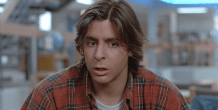 "Judd Nelson as John Bender in ""The Breakfast Club"" 
