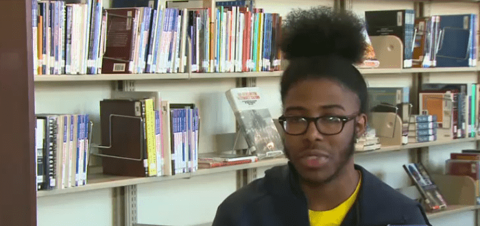 Deontae, the valedictorian, said it was a tough competition. | Source: 13abcnews.com