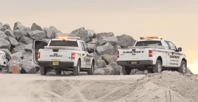 Palm Beach County Sheriff's Office vehicles at the site | Photo: WPTV News
