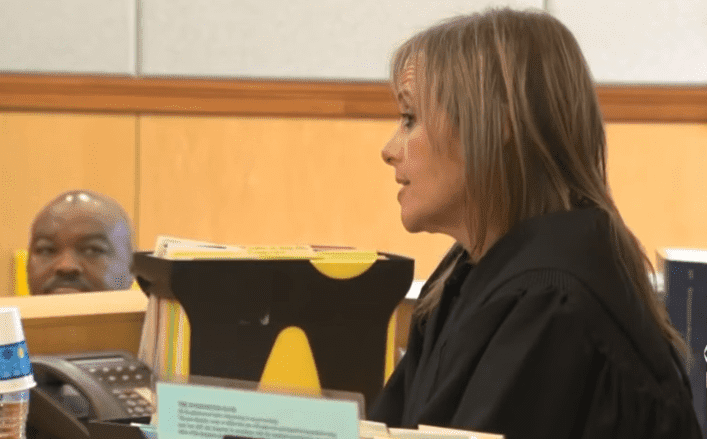 Newton District Court Judge Shelle Richmond Joseph in court | Photo: CBS Boston
