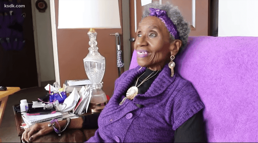 Slaughter hopes her story can inspire other seniors to start taking care of themselves, even if like her, they are scared of exercising outside. | Photo: YouTube/ KSDK News