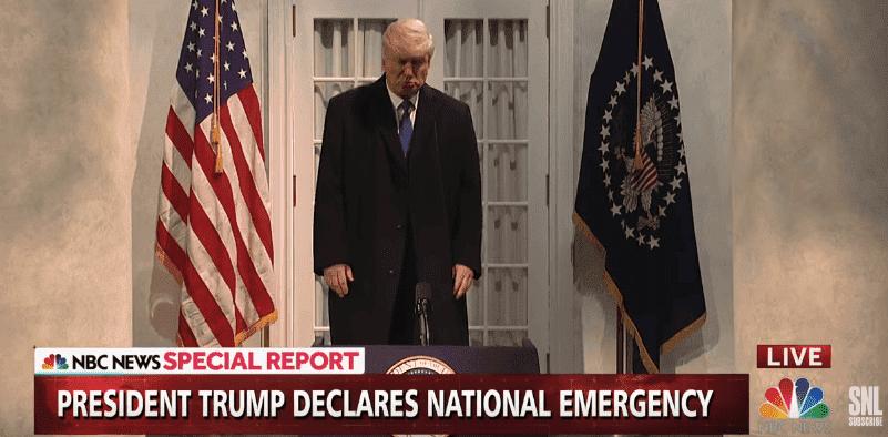 Alec Baldwin als Donald Trump in Sketch - Quelle: Saturday Night Live